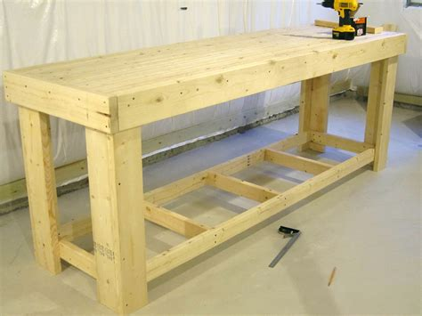 how to make a wooden work bench wooden work bench plans home design ideas