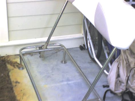boat cooler seat frame help with swing back cooler seat the hull