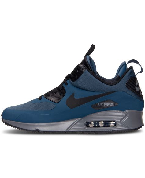 Nike Mid Sneakers Casual lyst nike s air max 90 mid winter casual sneakers