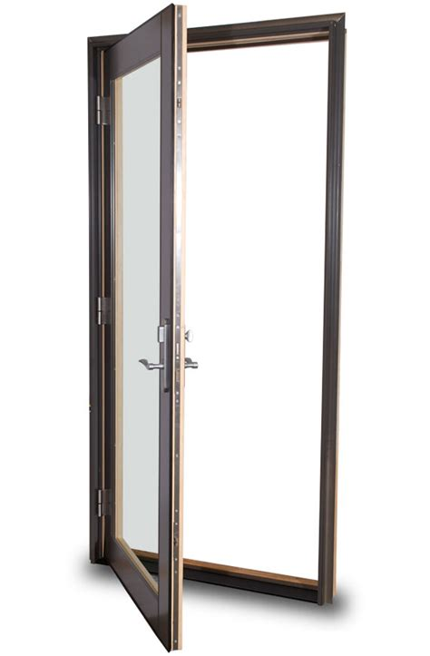 what is a swing door out swing door