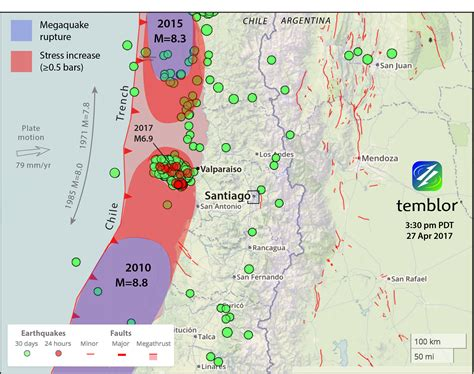 earthquake prediction map earthquake prediction a m 8 3 chile earthquake has become