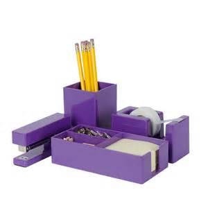 Purple Desk Accessories Purple Brighten Up Gift Set Shop By Type
