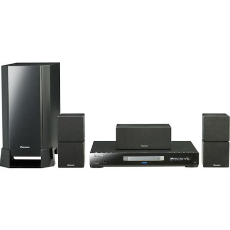 pioneer htz 370dv home theater system htz 370dv b h photo