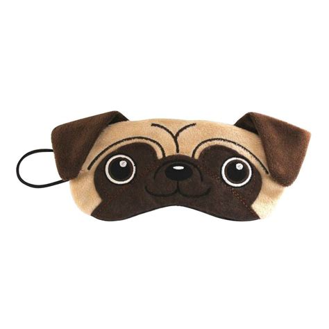 pug sleep mask pug plush eye mask comfortable sleep blackout ebay