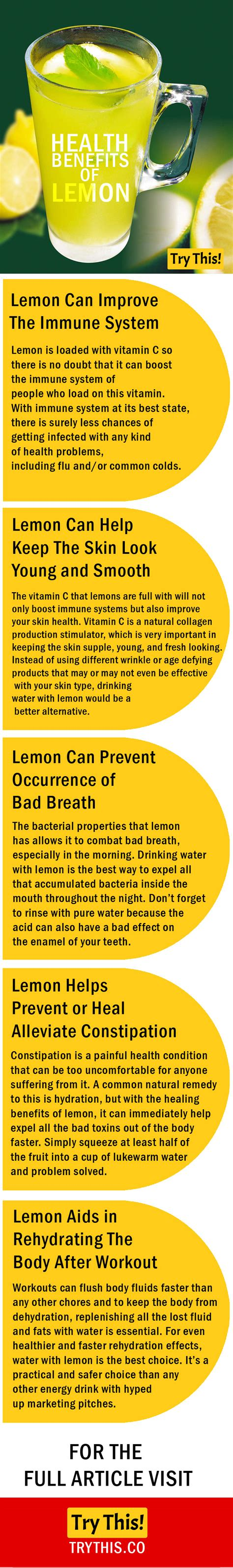 Benefits Of You Should About by 5 Health Benefits Of Lemon You Should About Health