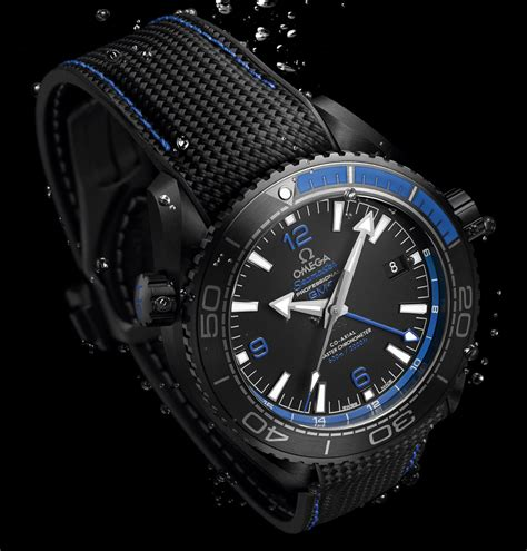 Watches Black omega seamaster planet gmt black watches in