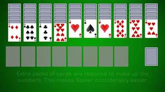 how to play solitaire learn how to play spider solitaire