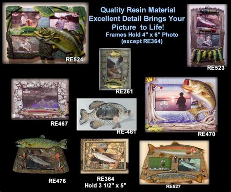 hunting and fishing home decor fish picture frames for fishermen hunting gifts gifts