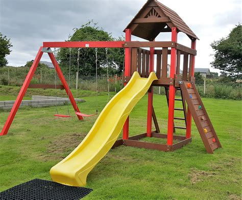 swing house the lydon heavy duty swing and slide set stt swings