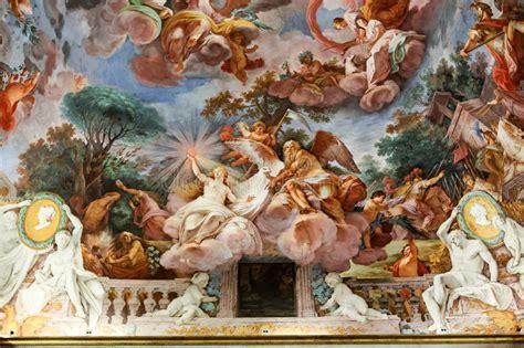 pittura soffitto pittura di arte soffitto in corridoio centrale della