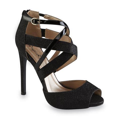 black high heels for juniors qupid junior s glee black stiletto shoes