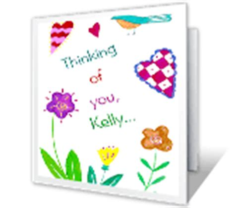 printable card just because thinking of you cards print free at blue mountain