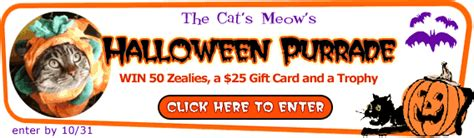 Tcm Gift Card - win 50 zealies and a 25 gift card in tcm s halloween photo contest catster
