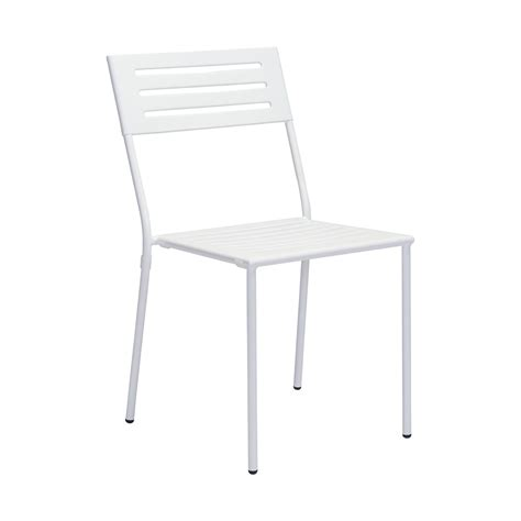 White Outdoor Dining Chair Zuo Wald Outdoor Dining Chair In White Boost Home