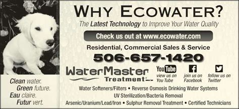 ecowater systems canpages