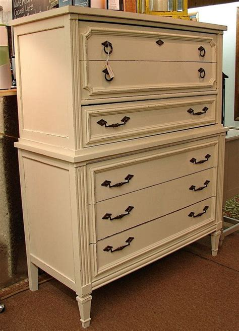 large tall dresser recycled large chalk paint highboy tall dresser