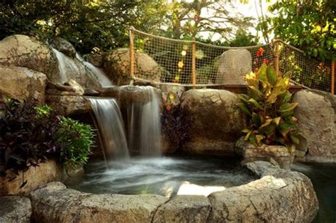 waterfall designs for backyards backyard waterfall design ideas landscaping network