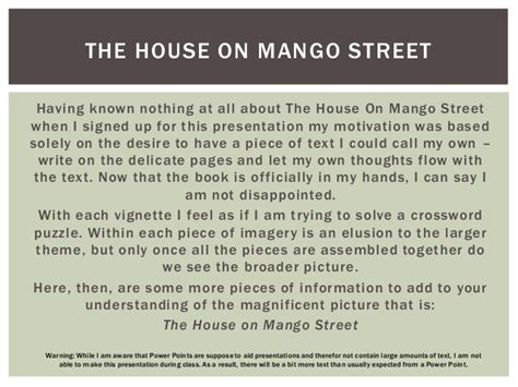 the house on mango street sparknotes the house on mango street