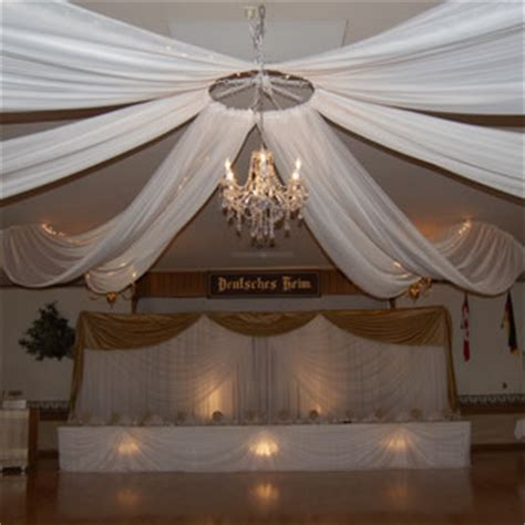 6 Panel Ceiling Draping Kit Hardware Only
