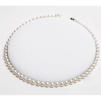 shop pearl rope necklace on wanelo