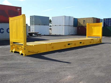 Flat Rack Container by Flat Rack Shipping Containers In Usa Hire And Sale