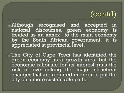 green economy and sustainable development