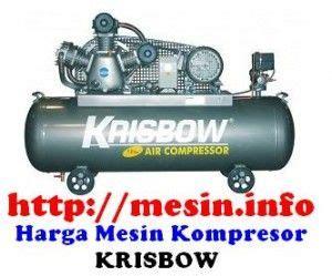 Mesin Kompresor harga mesin kompresor angin krisbow harga