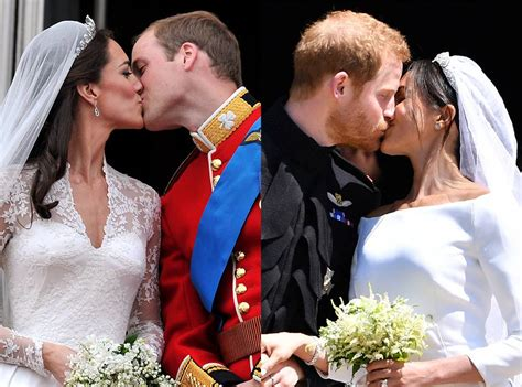 Royal Wedding Comparison by A Comparison Of The Royal Wedding Kisses Prince Harry
