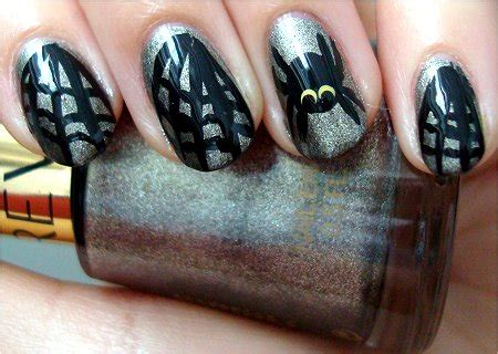 nail art tutorial websites nail art tutorial spider web nails swatch and learn