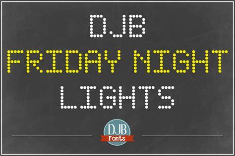friday night lights font djb friday night lights font dafont com