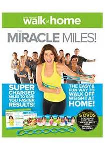 walk at home miracle brand new 5 dvd set by leslie