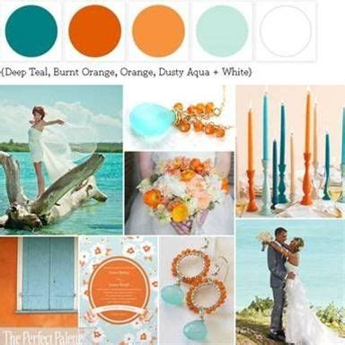 caribbean color palette the perfect wedding theme color my world pinterest