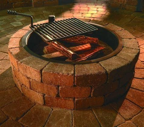 Fire Pit Fire Ring Outdoor Living Patios Pavers Firepit Ring