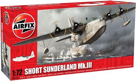 sunderland flying boat model kit airfix short sunderland iii flying boat kit 1 72 a06001
