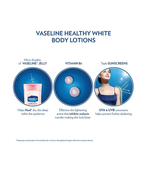 Vaseline Healty White 200ml vaseline healthy white lightening lotion 200 ml buy