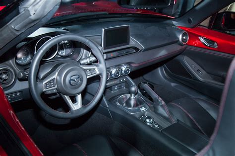mazda roadster interior fiat convertible miata 2016 autos post