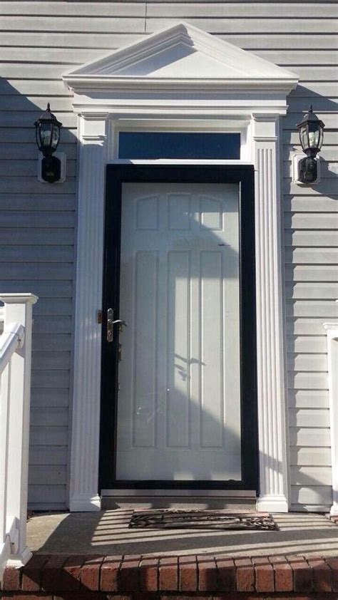 Entry Door Pediments by Entrance Door With Pediment And Pillasters Doormasterstm