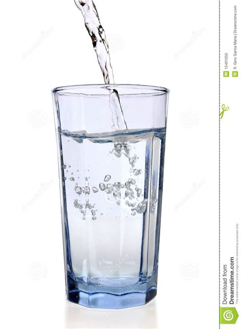 What To Fill Glass With Water Filling Glass Royalty Free Stock Photo Image 15401055