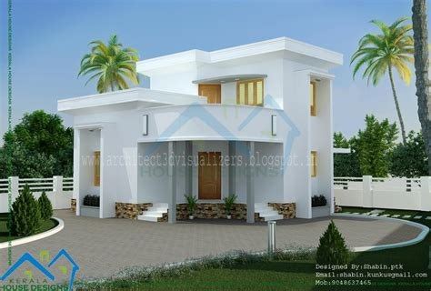 stunning small house design  kerala home decoration