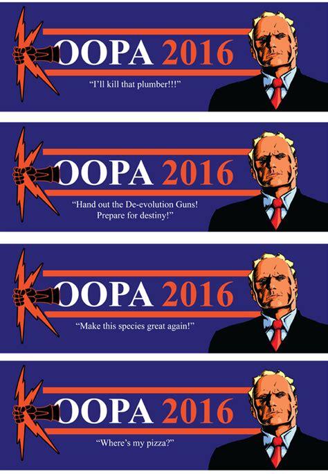 President Bumper Sticker