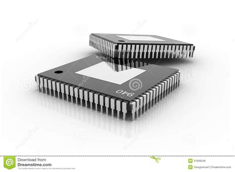 rimworld microchip integrated circuits electronic integrated circuit chip stock illustration image 31699248