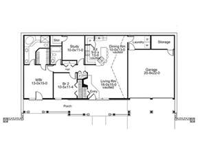 Berm Home Plans by Grandale Berm Home Plan 057d House Plans And More