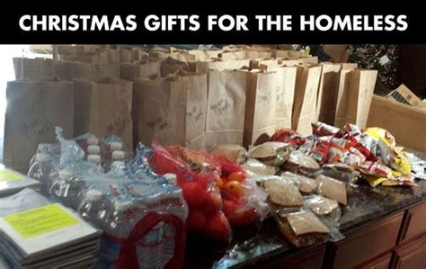 christmas gifts for the homeless 3 pics