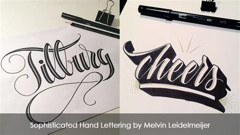 lettering js tutorial sophisticated hand lettering by melvin leidelmeijer