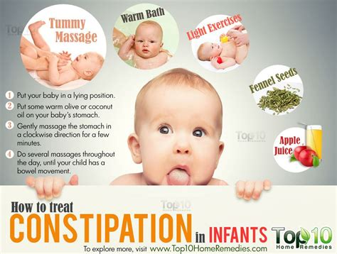 how to treat constipation in infants top 10 home remedies