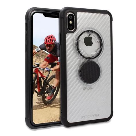 iphone xs max crystal case  rokform