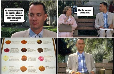 Life Is Like A Box Of Chocolates Meme - movies meme funny images jokes and more lols heaven