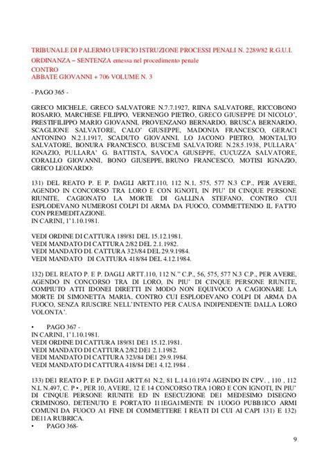 ufficio stato civile palermo bruno francesco tribunale di palermo ufficio istruzione