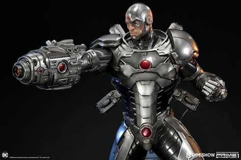 images of cyborg justice league new 52 cyborg statue