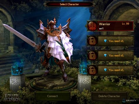 mobile rpgs warpportal reveals class details for mobile rpg tower of
